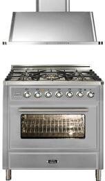 2-Piece Stainless Steel Kitchen Package with UMT76DMPI 30