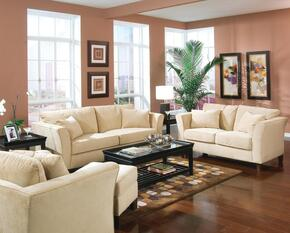 500231SET3 Park Place Contemporary 3 Pcs Living Room Set (Sofa, Loveseat, and Chair)