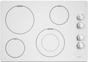 Maytag MEC7430BW 30  Electric Cooktop (White)