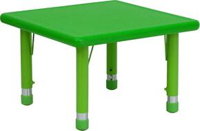 Flash Furniture YUYCX0022SQRTBLGREENGG