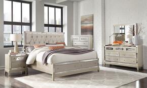 Global Furniture USA MIRRORCHAMPQBSTORAGESET