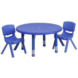 Flash Furniture YUYCX00732ROUNDTBLBLUERGG