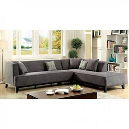 Furniture of America CM6861GYSECTIONAL