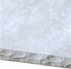 Distressed Gray Chisel Edge Countertop Option for 6 ft. Grill Island
