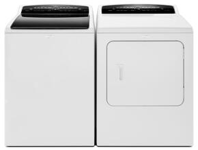 "Cabrio White Top Load Laundry Pair with WTW7300DW 27.5"" High-Efficiency Washer and WED7300DW 29"" High-Efficiency Electric Steam Dryer"