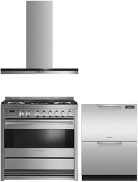 Fisher Paykel FP3PC36DFFIWMSSKIT1