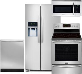4-Piece Stainless Steel Kitchen Package with FGHS2631PF 36