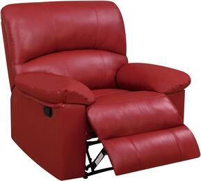 Global Furniture U99270REDRECLINER