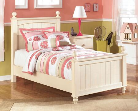 Signature Design by Ashley B213-POSTERBED Cottage Retreat Collection X Size Poster Bed: Cream