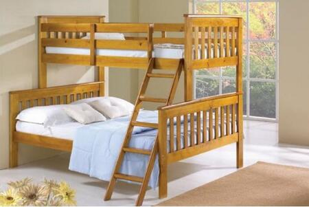 Donco 1222H  Full Size Bunk Bed