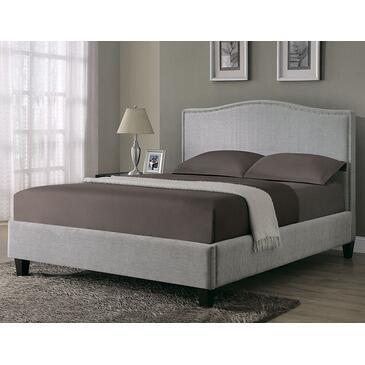 Monarch I5901Q  Queen Size Platform Bed