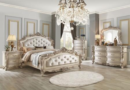 Acme Furniture Gorsedd 5 Piece California King Size Bedroom Set
