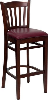 Flash Furniture XUDGW0008BARVRTMAHBURVGG Hercules Series Vinyl Upholstered Bar Stool