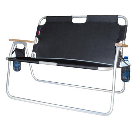 Algoma 7717X Tailgater - Two-Person Folding Aluminum Chair