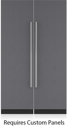 Sub-Zero IC24RRHPACKAGE Side-By-Side Refrigerators