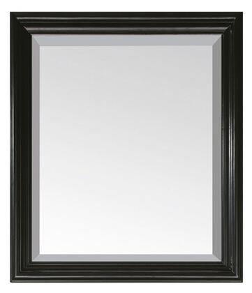 Avanity MILANOM30BK Milano Series Rectangular Portrait Bathroom Mirror