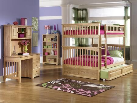 Atlantic Furniture YBBCOLUMBIAFULLFULLALNM Columbia Series  Full Size Bed