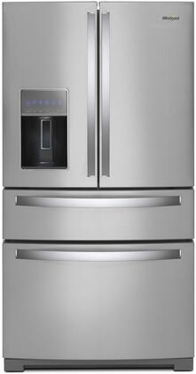 Whirlpool Main Image ... & Whirlpool WRX986SIHZ 36 Inch French Door Refrigerator with 26.2 cu ...