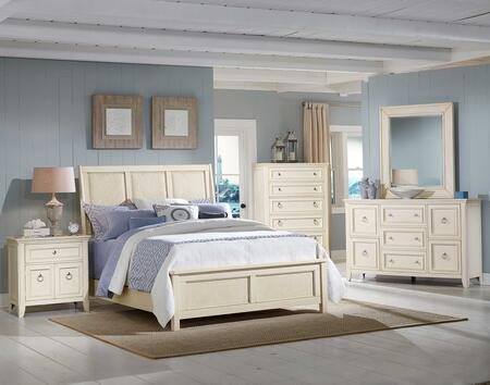 American Woodcrafters 441066SLE5P2 King Bedroom Sets