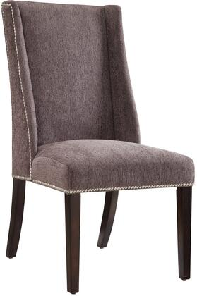Coaster 902505 Accent Seating Series Armless Fabric Wood Frame Accent Chair
