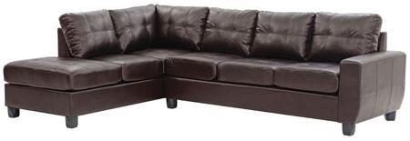 Glory Furniture G205BSC  Stationary Bycast Leather Sofa