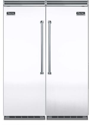 Viking 734343 5 Side-By-Side Refrigerators