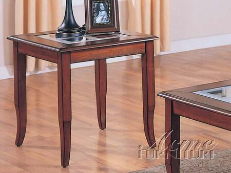 Acme Furniture 18402 Glenn Series Traditional  End Table |Appliances Connection