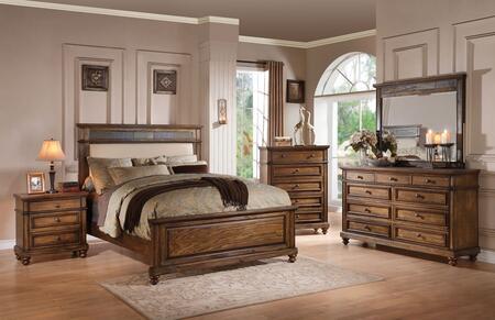 Acme Furniture 24440Q5PC Arielle Queen Bedroom Sets