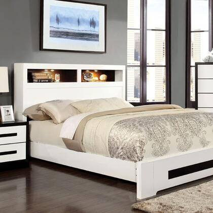 Furniture of America CM7297CKBED Rutger Series  California King Size Bed