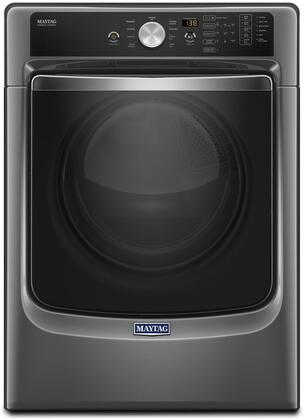 "Maytag MGD5500 27"" ADA Compliant Front Load Gas Dryer with 7.4 cu. ft. Capacity, PowerDry System, Sanitize Cycle and Rapid Dry Cycle, in"