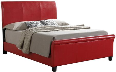 Glory Furniture G2759FBUP G2700 Series  Full Size Sleigh Bed