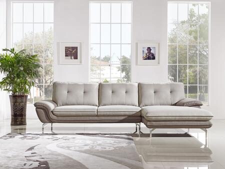 VIG Furniture VGMB1603 Divani Casa Indio Series Stationary Fabric Sofa