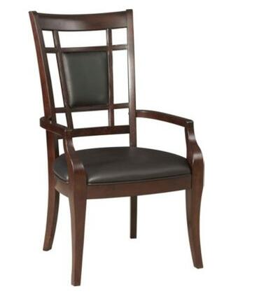 Broyhill 4467580 Avery Avenue Series Contemporary Leather Wood Frame Dining Room Chair