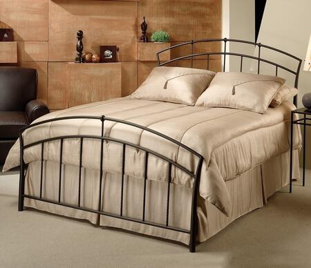 Hillsdale Furniture 1024BKR Vancouver Series  King Size Panel Bed