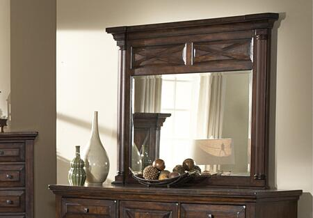 American Woodcrafters 6100040  Rectangular Landscape Dresser Mirror |Appliances Connection