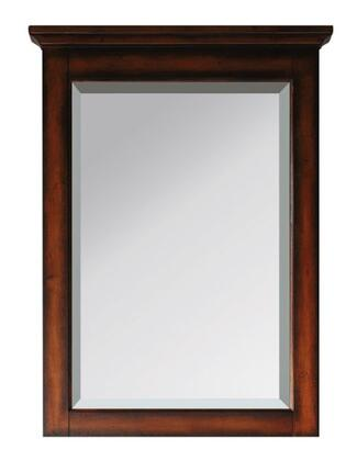 "Avanity Tropica TROPICA-M24-AX 24"" Mirror with Beveled Edge, Poplar Solid Wood Frame, and Wood Cleat at Back For Easy Hanging"