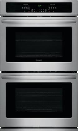 """Frigidaire FFET2726Tx 27"""" Star K Certified Double Wall Oven with 7.6 cu. ft. Total Oven Capacity, 4 Oven Racks, Keep Warm Setting, and Vari Broil Option, in"""