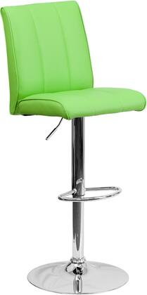 Flash Furniture CH122090GRNGG Residential Vinyl Upholstered Bar Stool