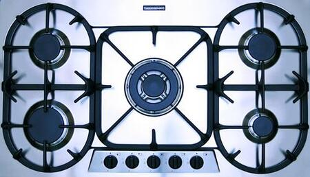 Kuppersbusch GMS9551EUL  Gas Sealed Burner Style Cooktop, in Stainless Steel