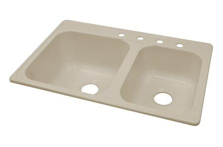 Lyons DKS02PTB Kitchen Sink