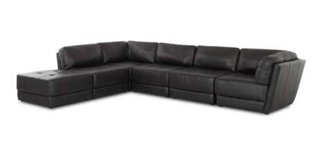 Klaussner GENERACORNCB  Modular Bonded Leather Sofa