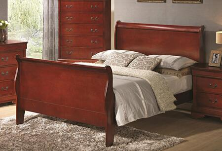 Coaster 200431T Louis Philippe Series  Twin Size Sleigh Bed