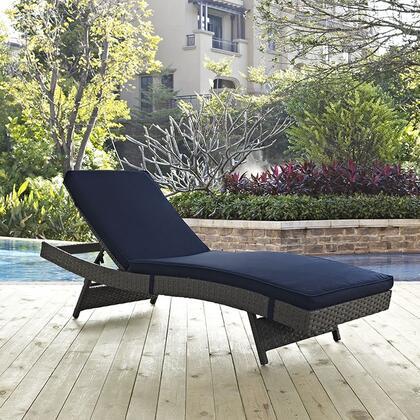 """Modway EEI1985CHCNAV 78.5"""" Water Resistant Lounge Chair"""
