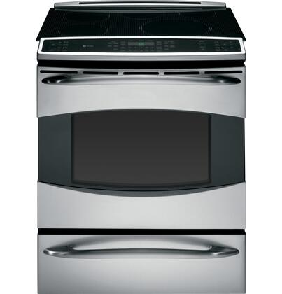 GE PHS925STSS Profile Series Slide-in Electric Range with Smoothtop Cooktop Warming 5.3 cu. ft. Primary Oven Capacity