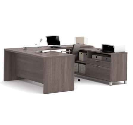 Bestar Furniture 120861 Pro-Linea U-Desk