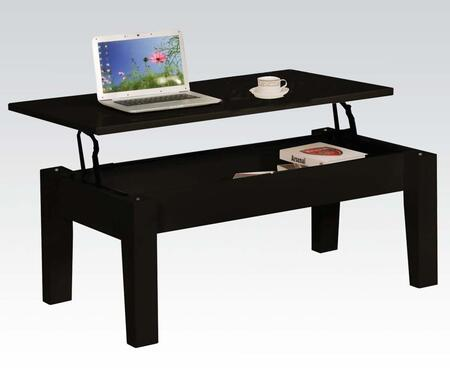 Acme Furniture 81350 Black Modern Table