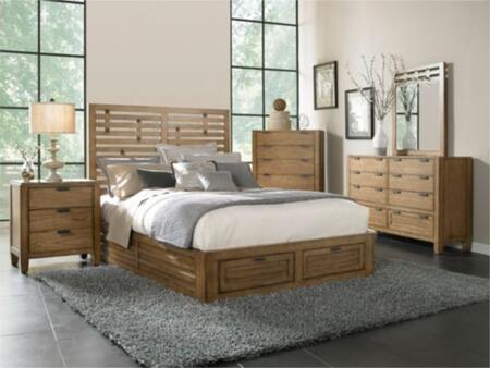 Broyhill EMBERBEDCK Ember Grove Series  California King Size Storage Bed