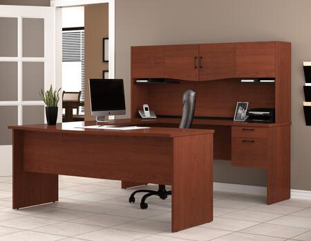 Bestar Furniture 52411 Harmony U-shaped workstation