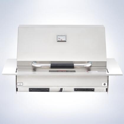 """Electri Chef 4400EC448xx32 4400 Series 32"""" Grill With Temperature Control, 448 sq. inches of Grilling Surface, 18 Gauge Stainless Steel, Digital Controls, Automatic Shut-off, Stainless Steel Cooking Grids, Easy Clean Drip Trays, in Stainless Steel"""
