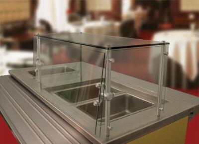 Sleek Shield Cafeteria Style